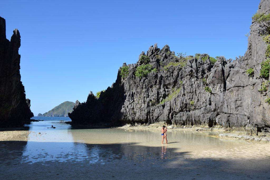 Hidden Beach el nido palawan philippines filipinas