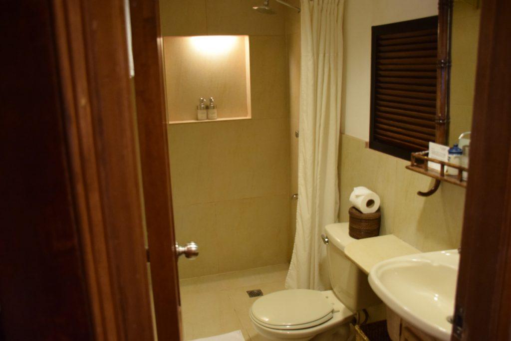 Banheiro do Garden Cottage | Miniloc Island - El Nido Resorts
