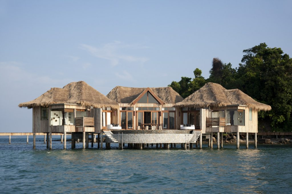 Overwater Villa no Song Saa Private Island, em Koh Rong, Camboja | foto: divulgação