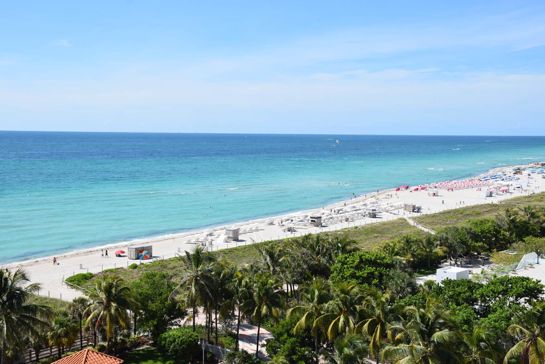 South Beach vista do rooftop do Hotel Metropolitan by COMO, Miami Beach