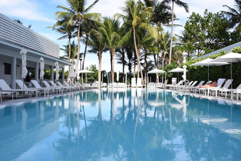 Piscina principal | Hotel Metropolitan by COMO Miami Beach