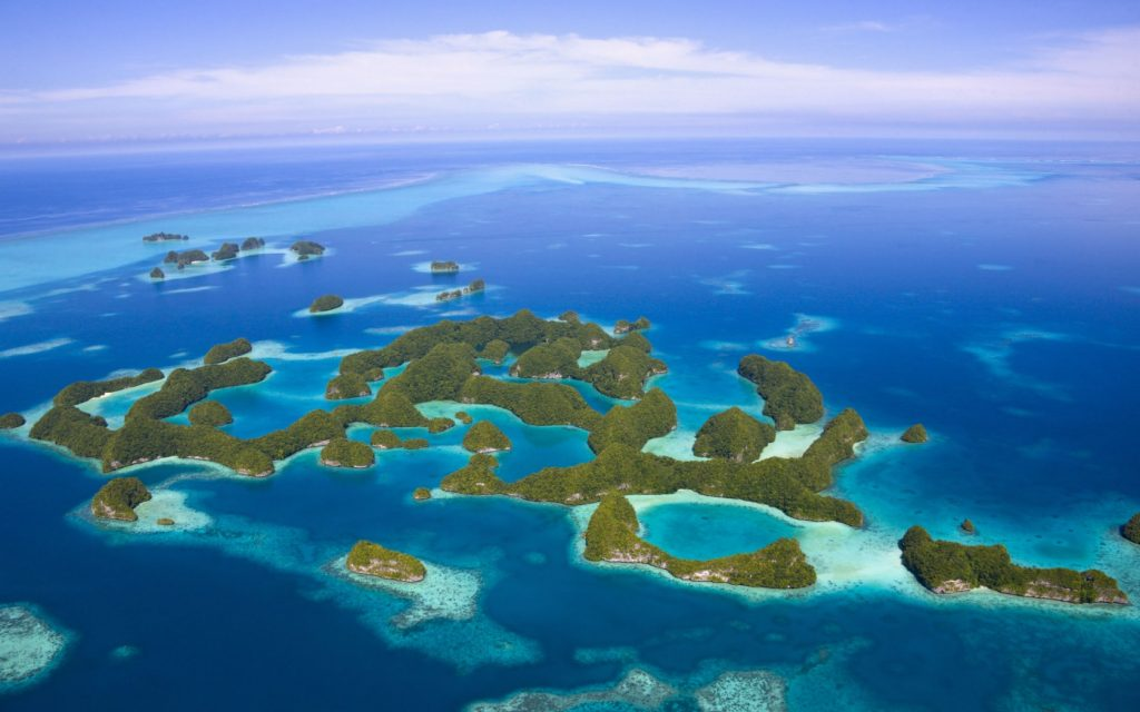 Rock Islands, em Palau