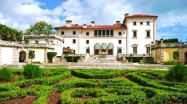 Vizcaya Museum and Gardens, em Miami | foto: Marc Averette para Wikipedia - CC