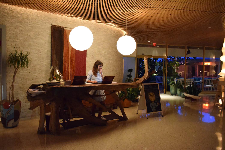 Recepção do hotel | The Standard Miami Beach
