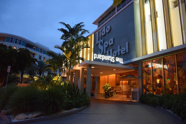Entrada do The Standard Hotel and Spa em Miami Beach
