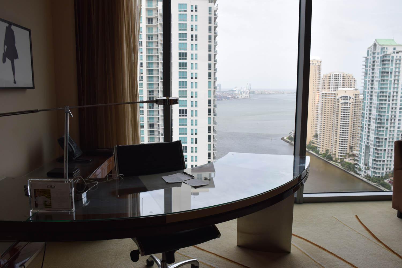 Vista linda de Brickell. Nosso quarto | JW Marriott Marquis Downtown Miami