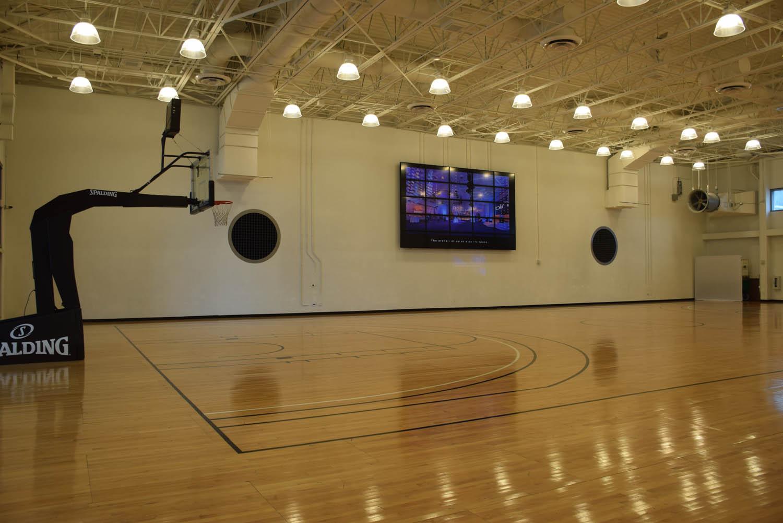 Quadra de basquete! | JW Marriott Marquis Downtown Miami