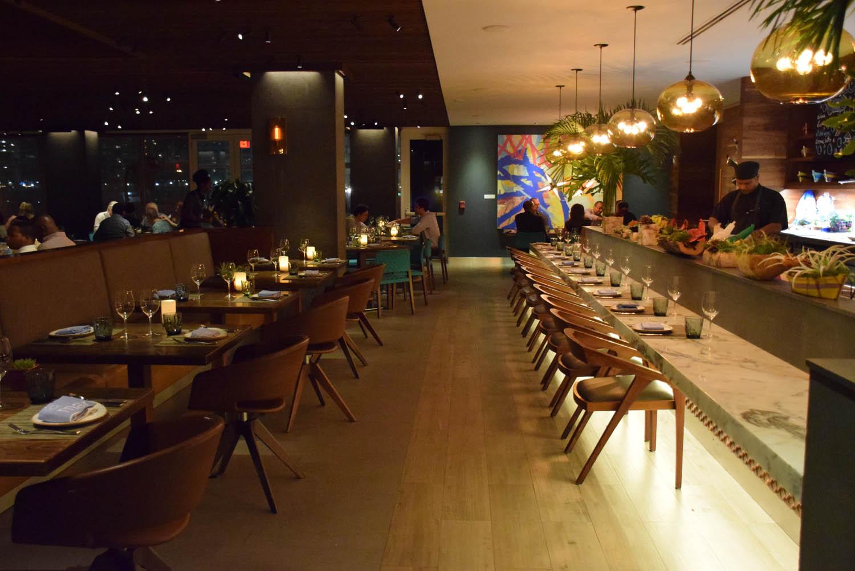 Restaurante La Mar, no Hotel Mandarin Oriental - Brickell - Miami