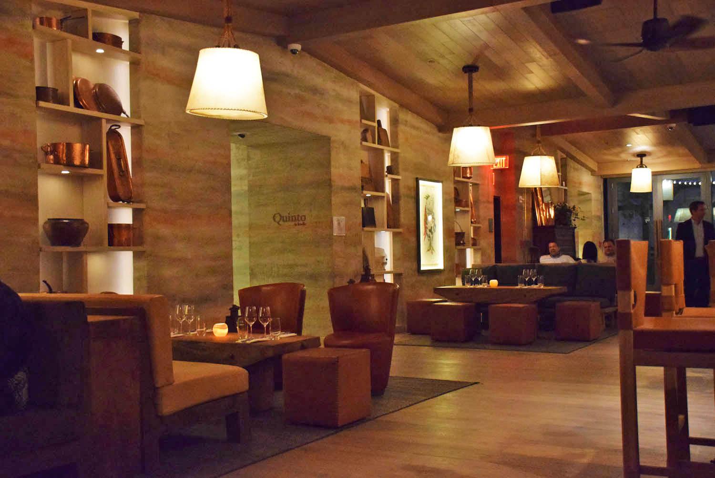 Restaurante Quinto La Huella, no hotel EAST Miami