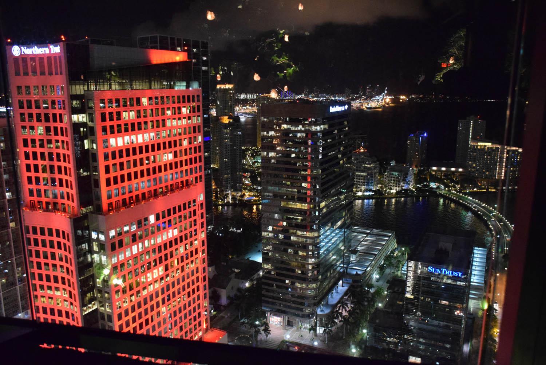 Vista linda de Miami do 44º andar | Sugar Bar, no hotel EAST Miami