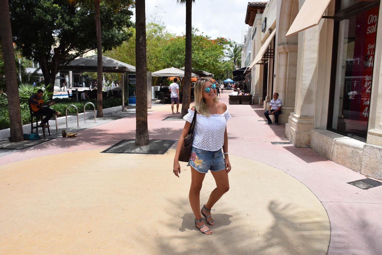Lincoln Road Mall, em Miami Beach