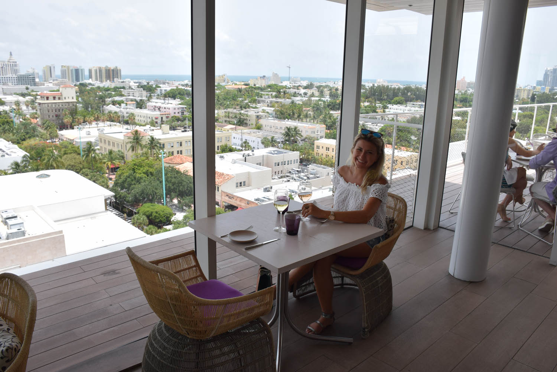 Vista para toda Miami Beach | Restaurante JUVIA