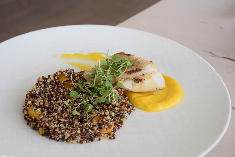 Pratos do menu de almoço | Restaurante JUVIA, Miami Beach