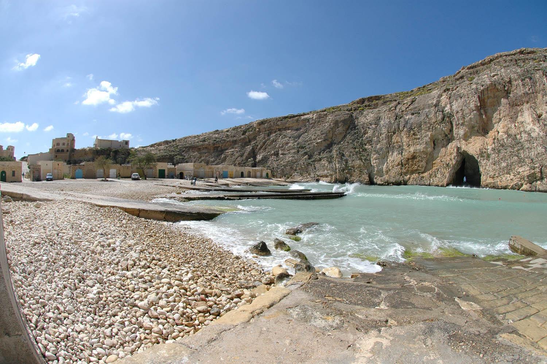 Agora a Inland Sea vista de baixo. Gozo, Malta | foto: © viewingmalta.com