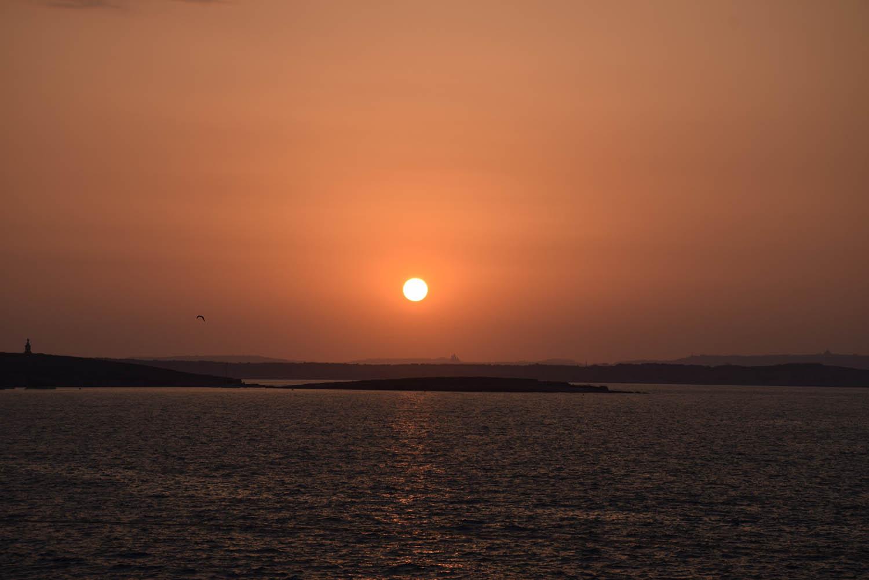 Melhor lugar para assistir ao pôr do sol - Café del Mar Malta