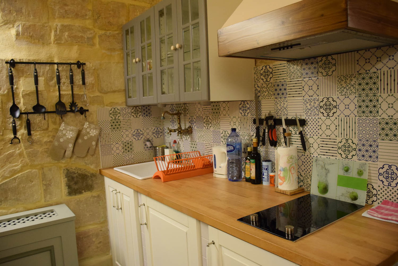 Cozinha toda equipada! Hotel Palazzo Prince d'Orange - Valletta - Malta