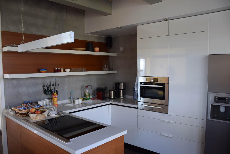 Cozinha comunitária no último andar | Hotel Palazzo Prince d'Orange - Valletta - Malta