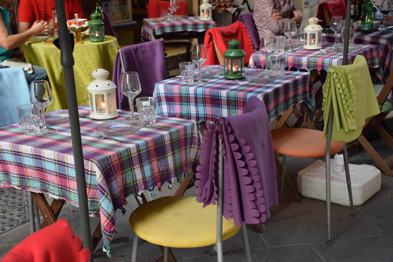 Mantinhas para os clientes - Achei fofo! Restaurante Angelica, em Valletta
