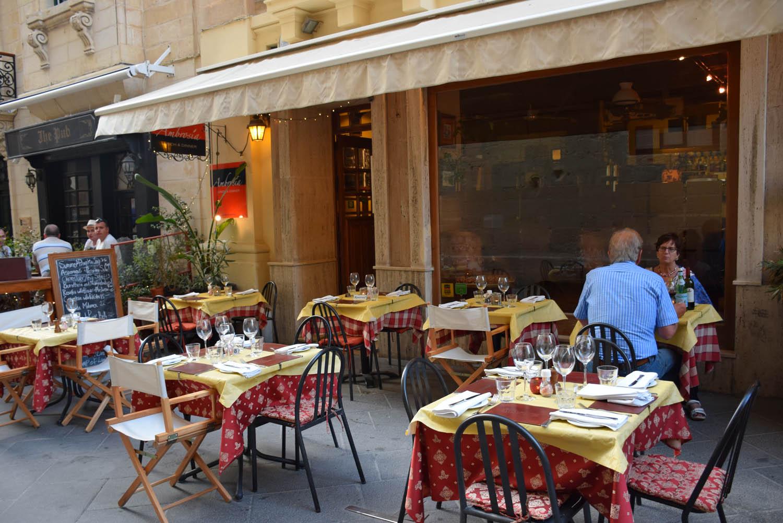 Restaurante Ambrosia, em Valletta - Malta