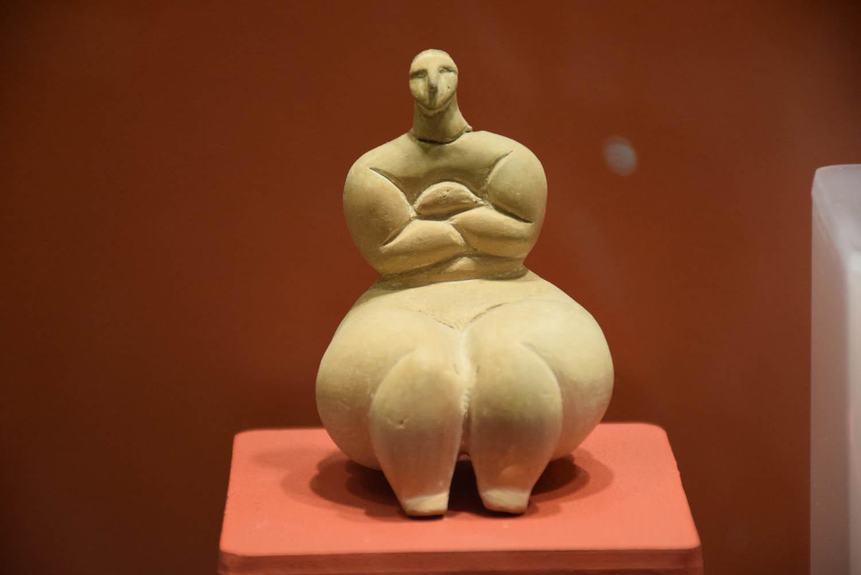 Dentro do museu do Ggantija Temples - peças encontradas | Gozo - Malta
