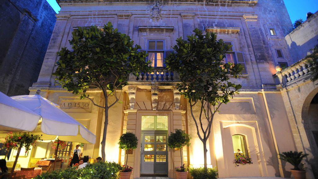 Hotel The Xara Palace Relais & Chateaux em Mdina, Malta | foto: divulgação