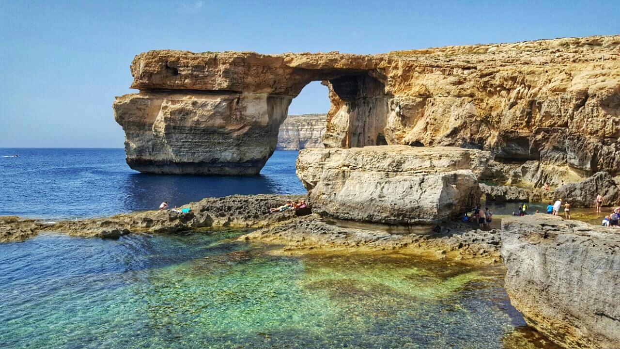 Azure Window em Gozo, Malta | foto: Maria Eugenia Cerchi
