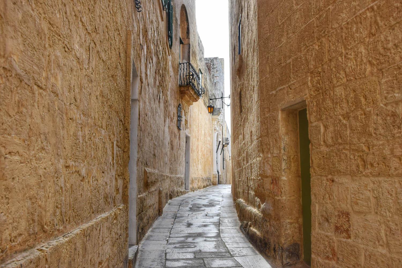 Pelas ruas da Cidade Silenciosa - Mdina - Malta