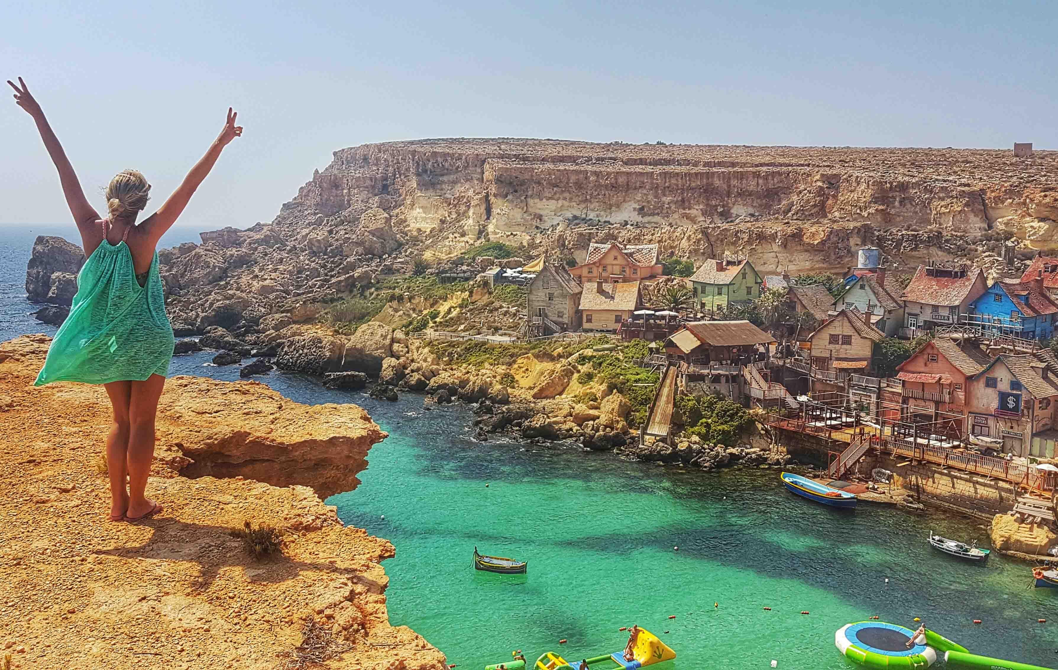 Popeye Village, em Malta