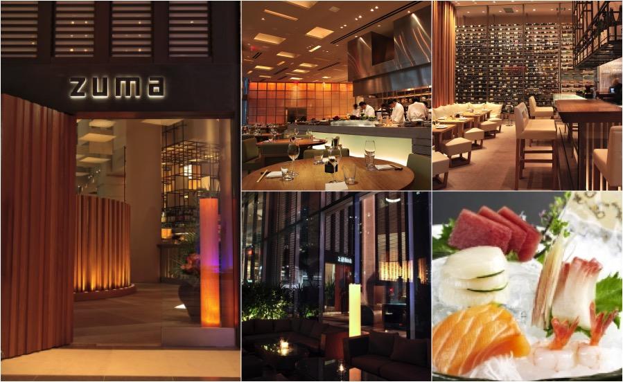 Restaurante japonês ZUMA, no EPIC Hotel em Miami | fotos: divulgação