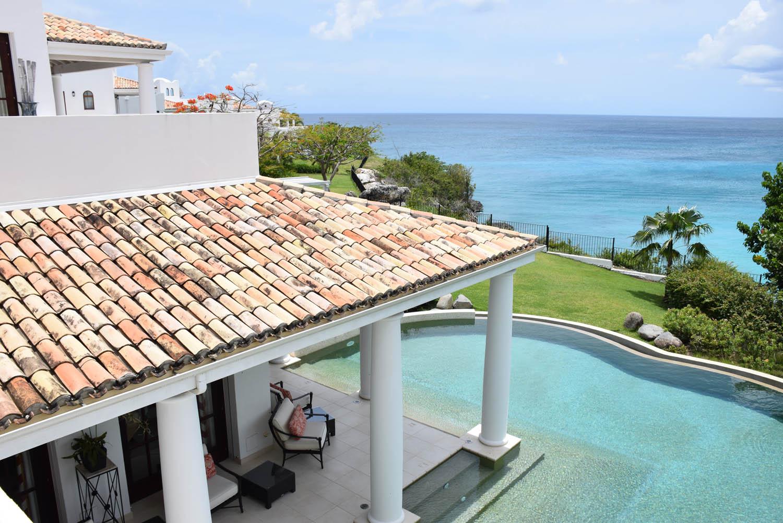 Essa piscina é só para os hóspedes da Villa Sucrier! Hotel Belmond La Samanna - St. Martin