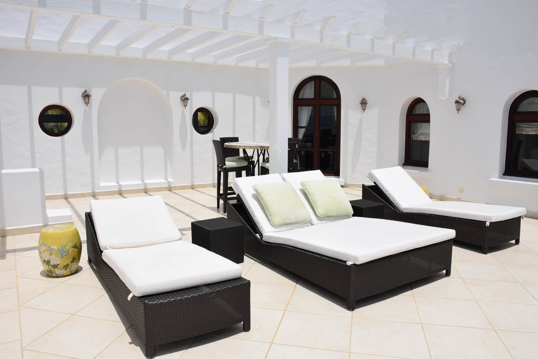 Terraço Villa Sucrier - Hotel Belmond La Samanna - St. Martin