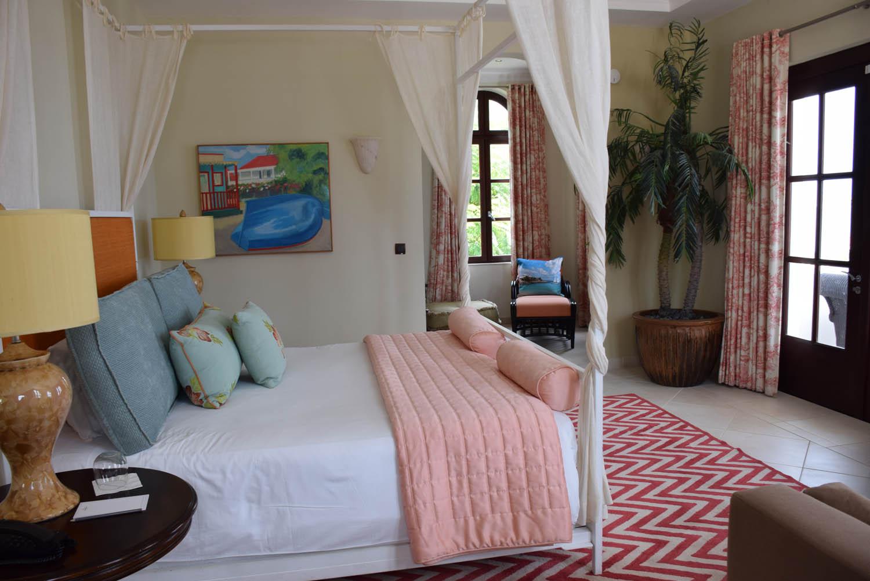Meu quarto na Villa Sucrier, Belmond La Samanna - St. Martin [são 3 suítes]
