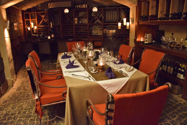 Restaurante La Cave - Belmond La Samanna: super privativo e aconchegante