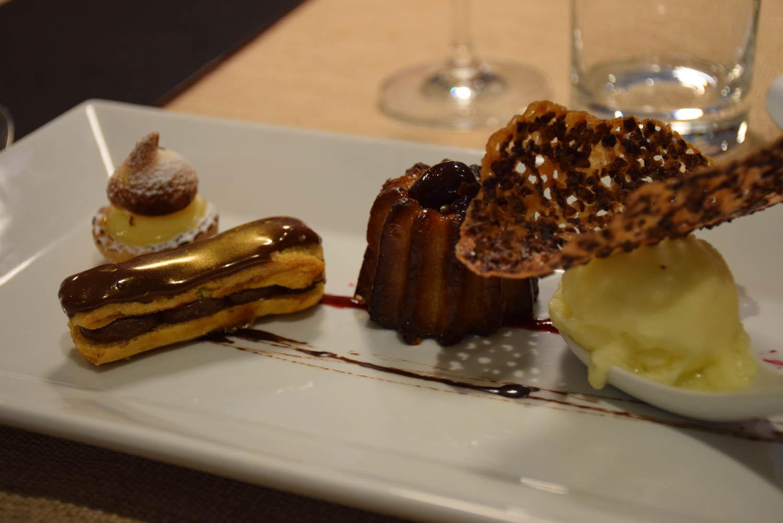 Sobremesas liiiindas e deliciosas. Restaurante Bacchus, St. Martin