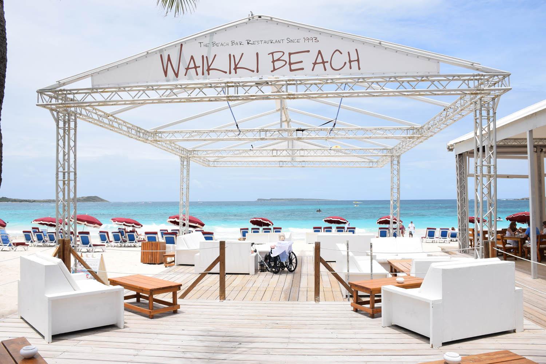 Waikiki Beach em Orient Bay, St. Martin