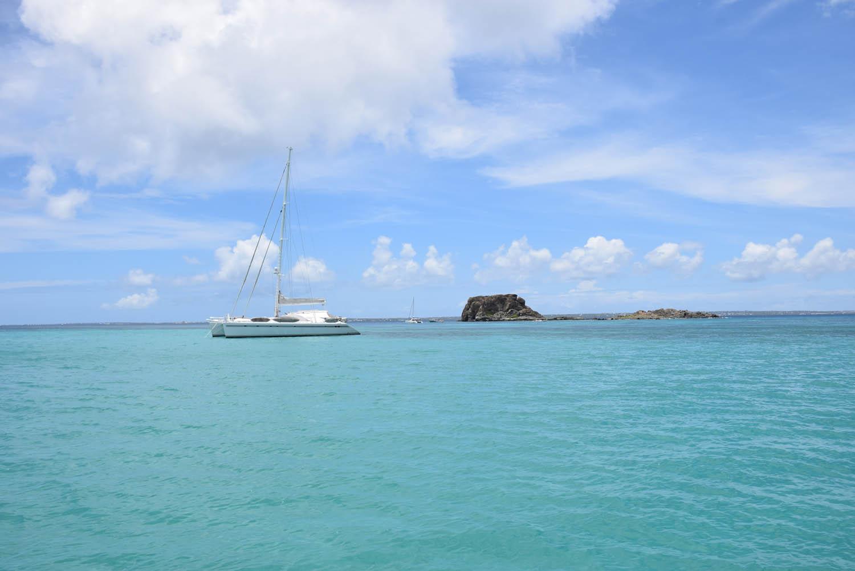 Creole Rock - spot de snorkel em St. Martin