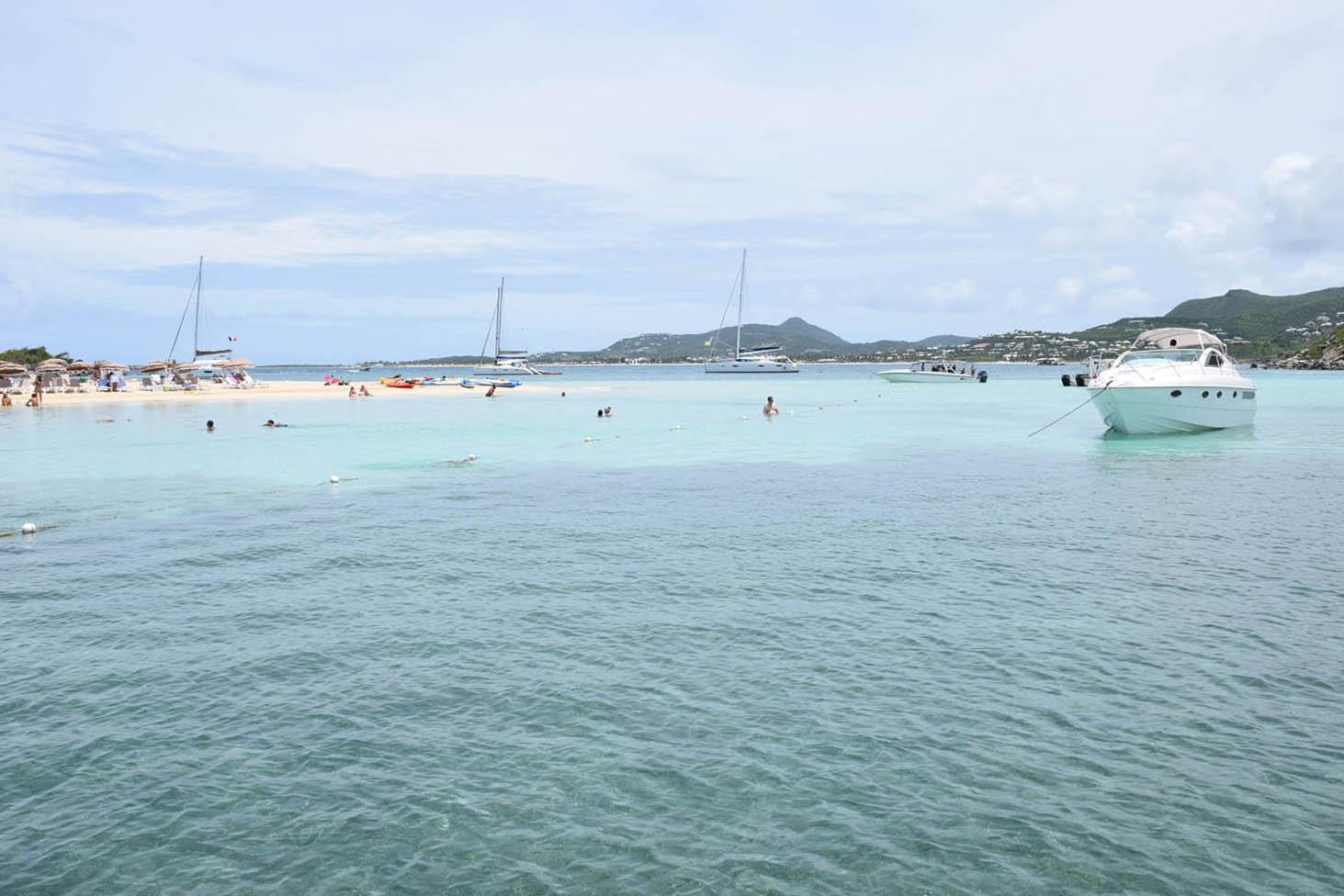 Mar azulzinho de Pinel Island