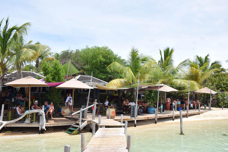 Pinel Island - Restaurante Karibuni
