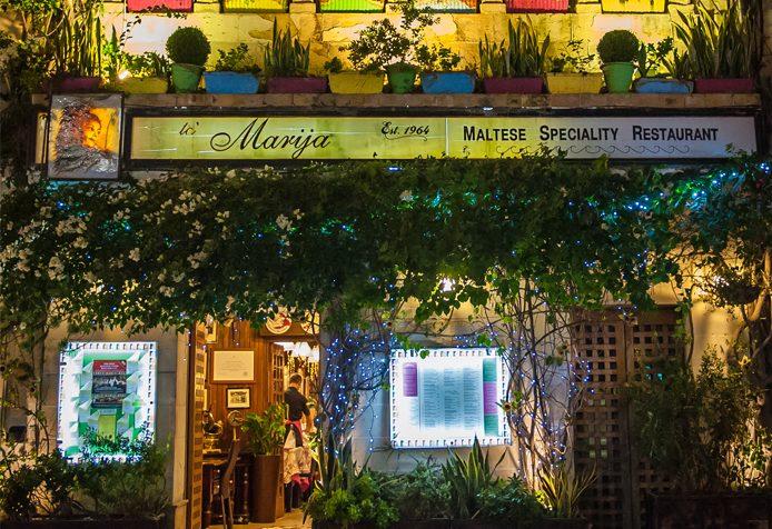 Ta' Marija Restaurant em Mosta, Malta - comida tradicional | foto: divulgação