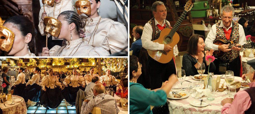Noite de danças e músicas maltesas no Ta' Marija Restaurant, em Mosta - Malta | foto: divulgação