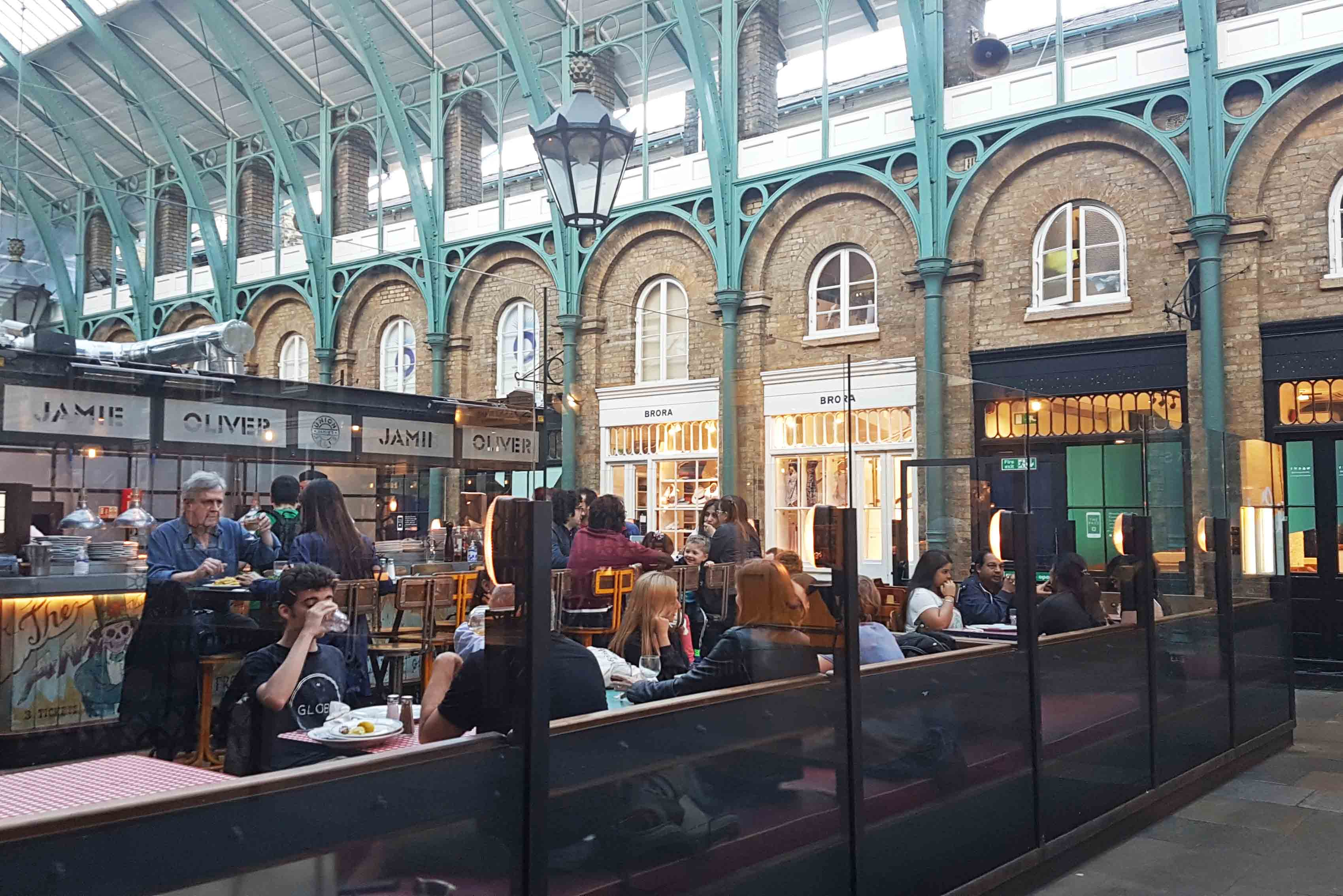 Restaurante do Jamie Oliver no Covent Garden, Londres
