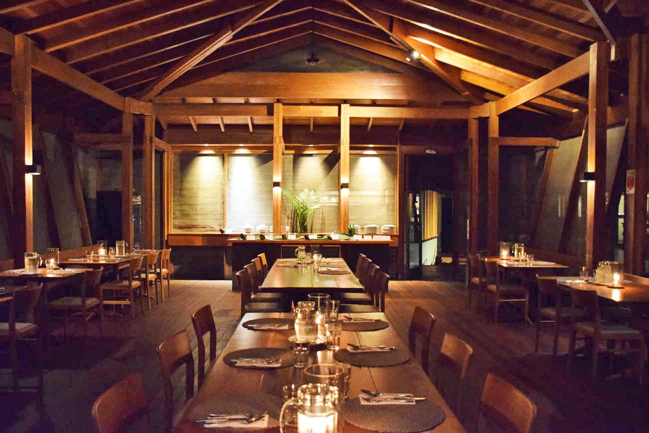 Restaurante do Cristalino Lodge, na Amazônia