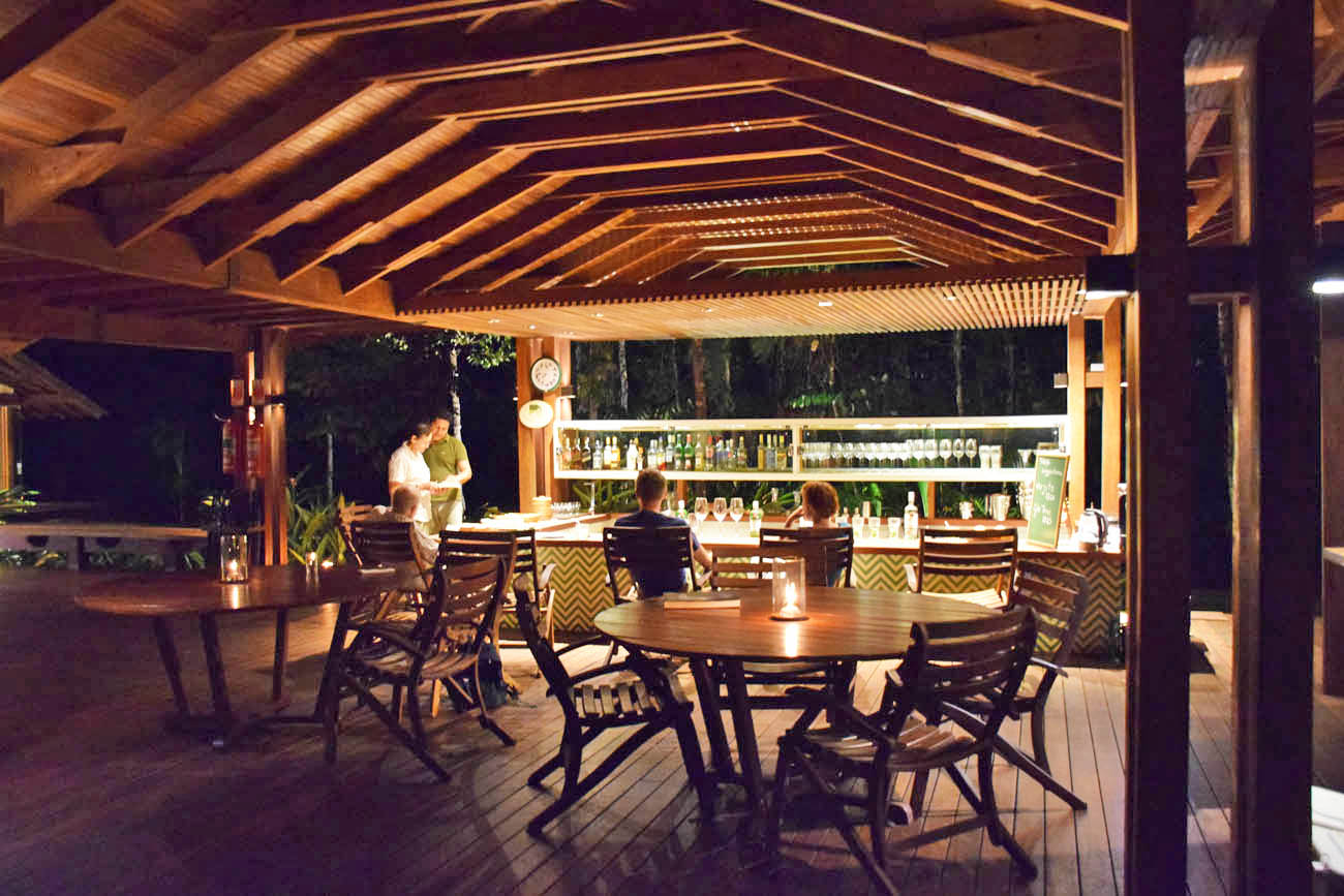 Bar do Cristalino Lodge - Floresta Amazônica