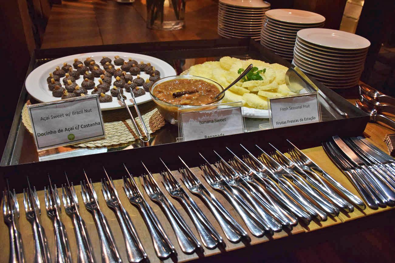 Doces de frutas típicas de sobremesa - Cristalino Lodge - Amazônia