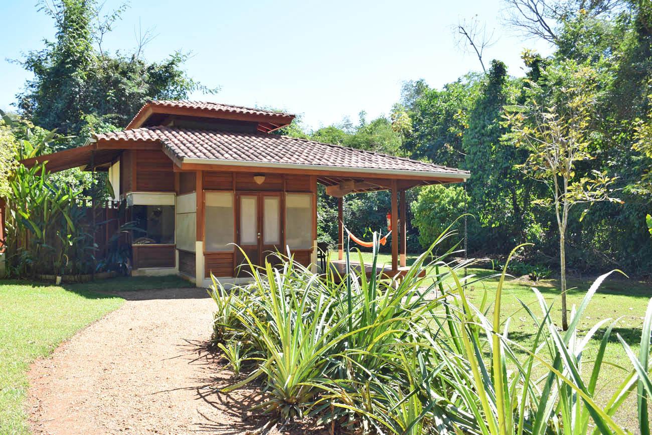 Meu bangalô no Cristalino Lodge - Floresta Amazônica