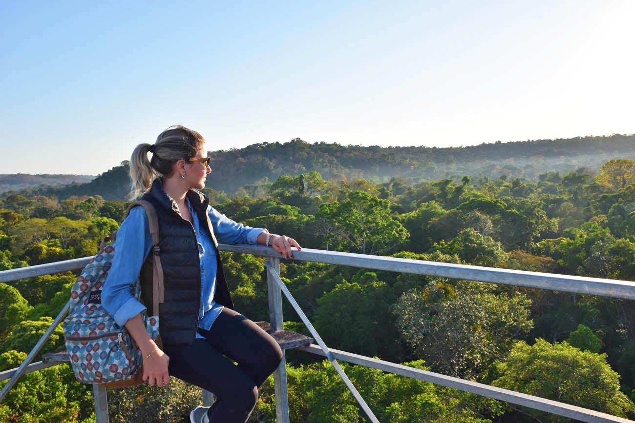 Incrível ver a Floresta Amazônica DE CIMA, a 50m do chão! | Torre 2 do Cristalino Lodge