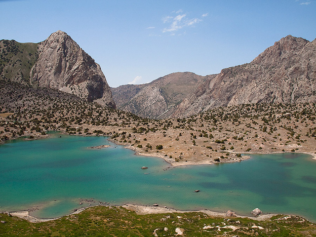 Kulikalon Lake, no Tajiquistão | créditos foto: Evgeni Zotov (Flickr - CC)