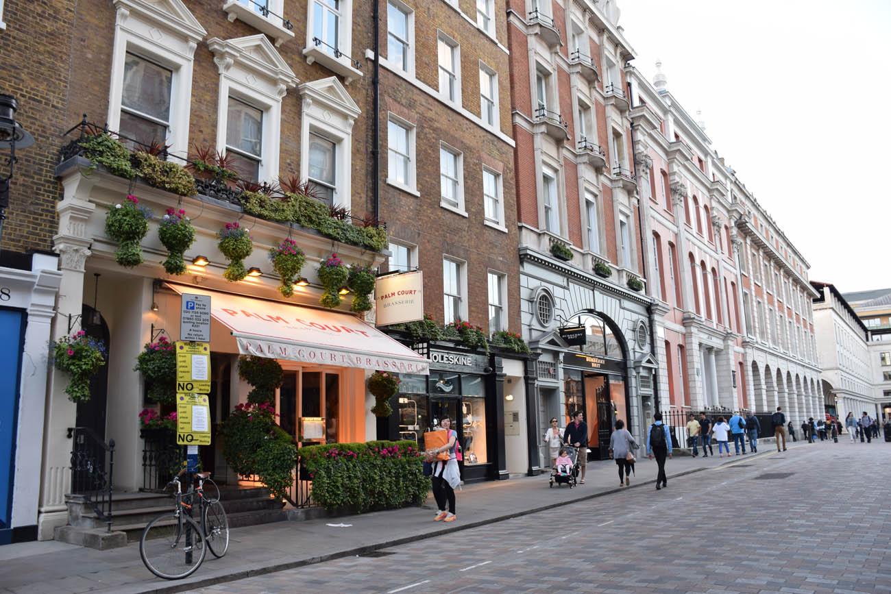 Pelas ruas de Covent Garden - Londres