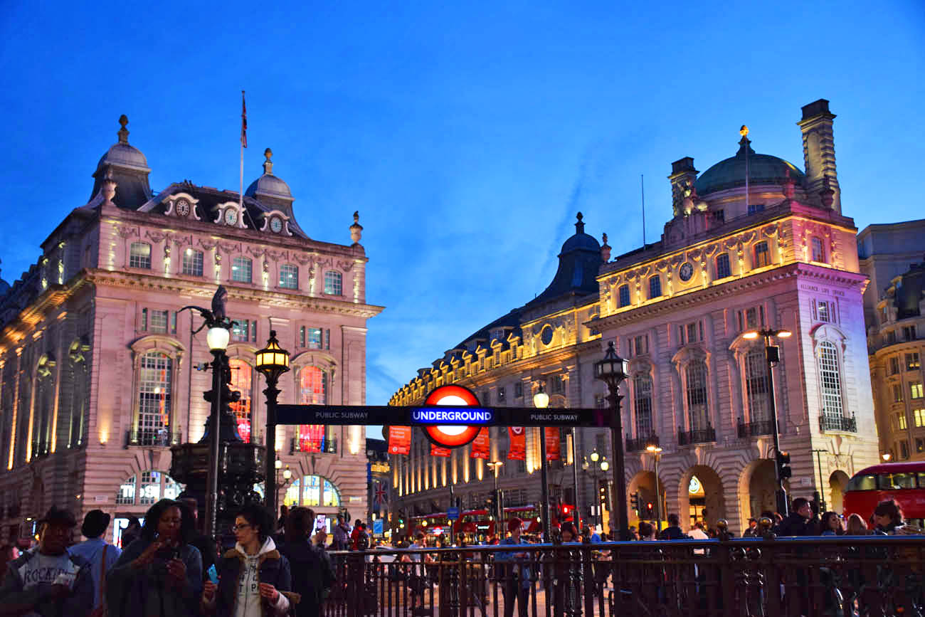 Piccadilly Circus - Londres