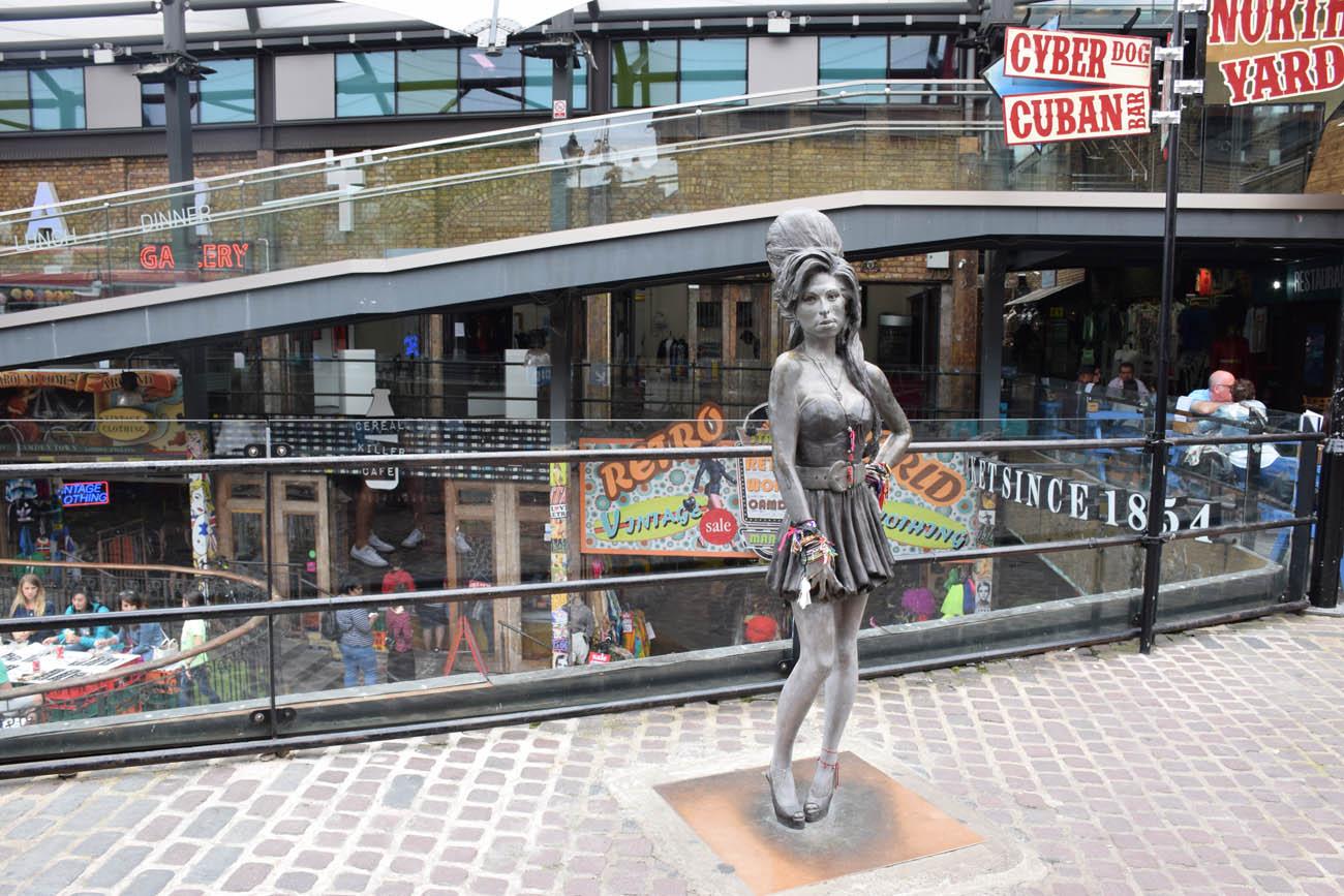 Amy Winehouse - queridinha de Camden Town, Londres